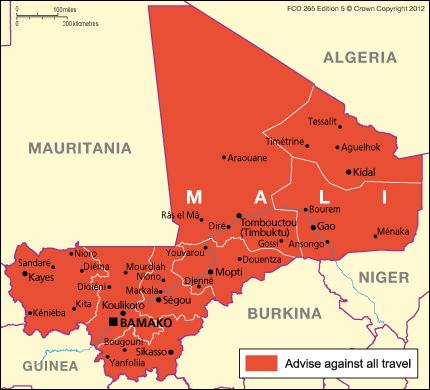 US Embassy Mali Diplopundit - Map us embassy manila