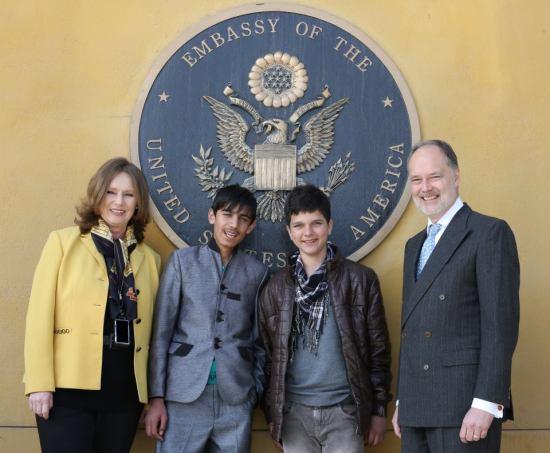 Photo via US Embassy Kabul/FB