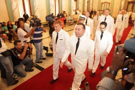 Ambassador Wally Brewster during his presentation of credentials to Presidente Danilo Medina at Palacio Nacional Dominicano on December 9, 2013. (photo via US Embassy DR/FB) More photos here.