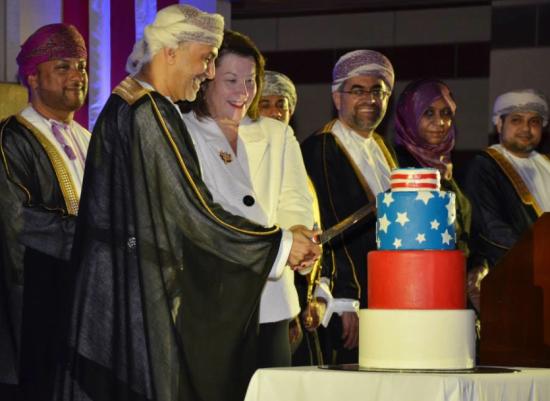 Photo via US Embassy Muscat