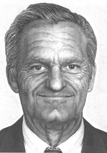 Photograph enhanced to age 77 Source: FBI