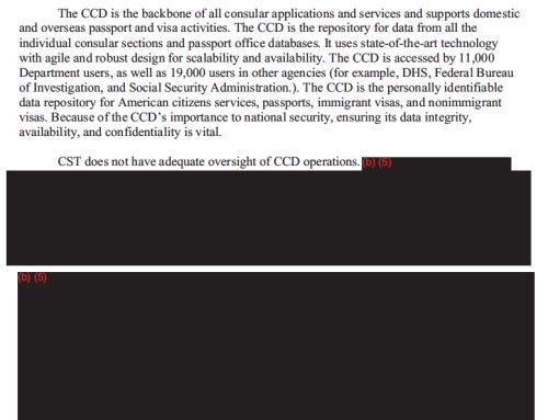 Consular consolidated database diplopundit for Consul database
