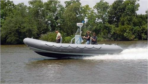 Patrol Boat Purchased for the Afghan National Police (SIGAR photo)