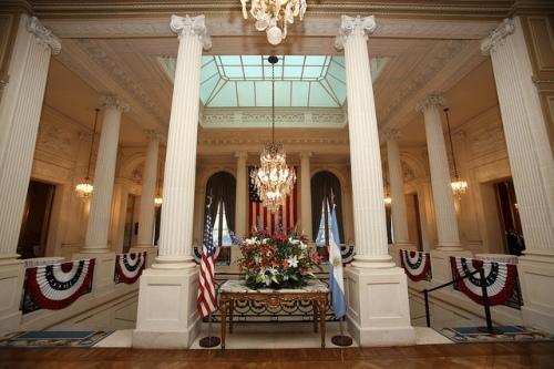 Palacio Bosch via U.S. Embassy Buenos Aires