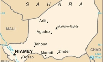 US Embassy Niger Curfew For Official Personnel From Midnight - Us embassy niger map