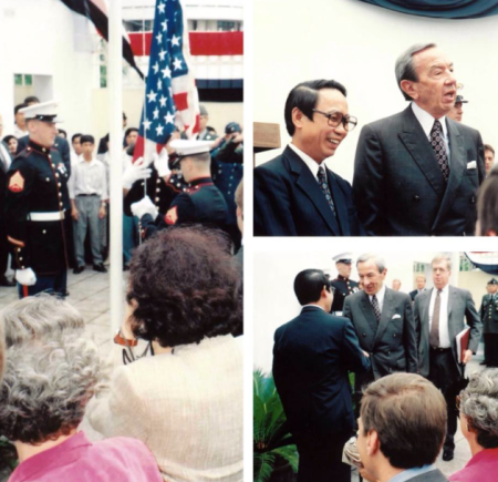 Photo from US Embassy Hanoi/FB
